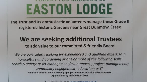 We are seeking additional Trustees Picture